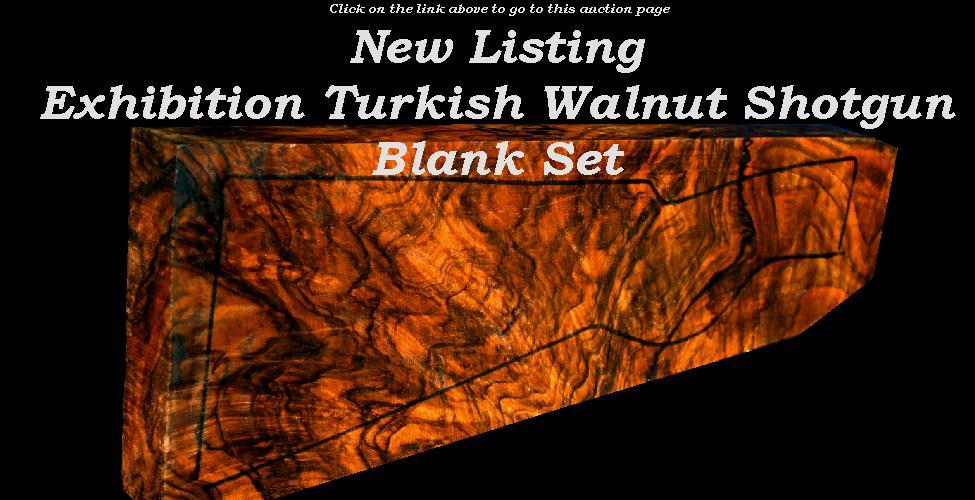 HunterBid Com - Gunstock Walnut Wood Blank And Gun Auction Site